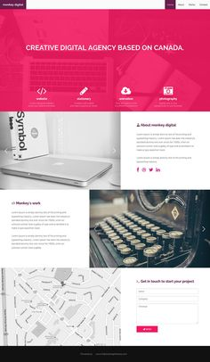 Monkey Digital - Agency Theme - The Bootstrap Themes