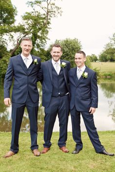 Shabby Chic Pretty Pastel Wedding Blue Suit Groom Ted Baker http://kerryannduffy.com/