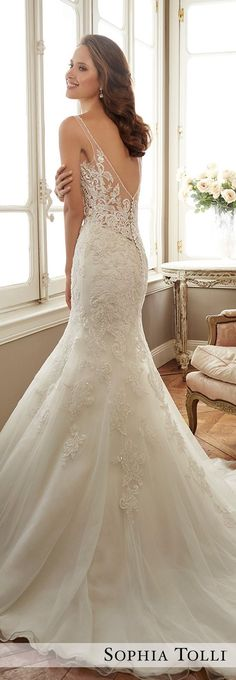 Wedding Dress by Sophia Tolli Spring 2017 Bridal Collection | Style No. » Y11707 Margot