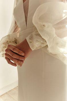 The Oslo Long Sleeve Wedding Dress by Bo