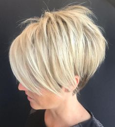 Pixie Haircuts with Bangs – 50 Terrific Tapers Blonde Shaggy Pixie Bob Related New Short Haircuts for Older Women with Fine HairLatest Bob Haircuts for Fine Hair in 2019 - Styles Fantastic Choppy Bob Hairstyles For All Moods And Occasions Short Pixie Haircuts, Haircuts With Bangs, Short Bob Hairstyles, Hairstyles Haircuts, Short Hair Cuts, Cool Hairstyles, Short Hair Styles, Short Pixie Bob, Pixie Pony