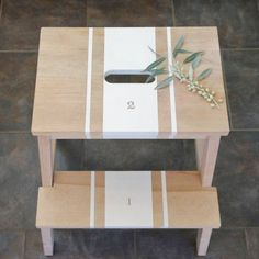 Spruce Up Your Step Stool