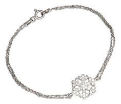 Sterling Silver 7 inch Double Strand Cable Cubic Zirconia Snowflake Bracelet 100Silver,http://www.amazon.com/dp/B00ALMEP3A/ref=cm_sw_r_pi_dp_DEIOrbA207684096