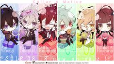 coilar malice | Collar×Malice 発売記念! - Collar×Malice Jiang Shi, Code Realize, Violet Evergarden, Under The Moon, K Project, Cute Games, Chivalry, Diabolik Lovers, Anime Chibi