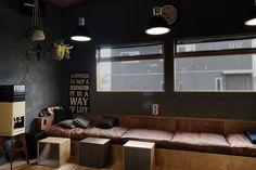ベンチソファ|WORKS 118「CONCEPT HOUSE」名古屋市緑区 – 新築注文住宅|エイトデザイン Conference Room, Dining, Table, Furniture, Home Decor, Instagram, Dinner, Meal, Meeting Rooms