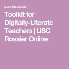 Toolkit for Digitally-Literate Teachers | USC Rossier Online