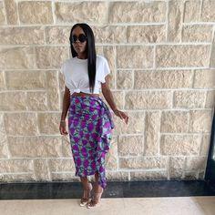 African Fashion Ankara, African Print Dresses, African Print Fashion, African Wear, African Dress, African Prints, Chic Outfits, Fashion Outfits, Style Africain