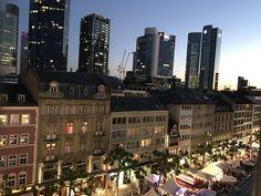 Penthouse Wohnung mit Skyline Blick auf der Freßgass, Frankfurt am Main. #Frankfurt #Penthouse #Freßgass