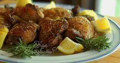 Курица с лимоном и сладкими специями