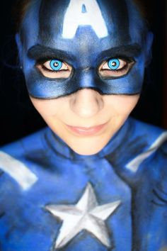 Costumes On Pinterest | Captain America Makeup Miss Piggy And Couple Costumes