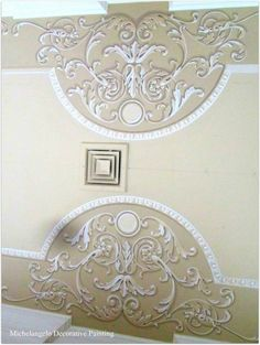 . Pop Design, Wall Design, House Design, Classic Ceiling, Classic Interior, Islamic Calligraphy, Mural Art, Fractal Art, Swirls