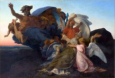 Morte de Moisés, 1850.