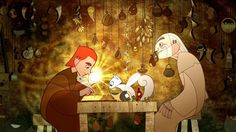 """""""Secret of the Kells"""" ... I really liked the style of this movie more so than the movie itself."""