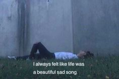 Tumblr Quotes, Bts Quotes, Mood Quotes, Brainy Quotes, Movies Quotes, Film Quotes, Grunge Quotes, Saddest Songs, Pretty Words