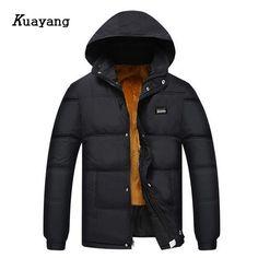 2017 New Arrival Thick Winter Jacket Men Parkas Warm Parkas men coat Father jaqueta masculina casacos de inverno FLD0139 #Affiliate