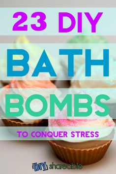 Easy and Lush DIY Bath Bomb Recipes - Find links to tutorials for bath bombs without citric acid, with coconut oil, and some for the kids. I found these to bring an end to a difficult day!
