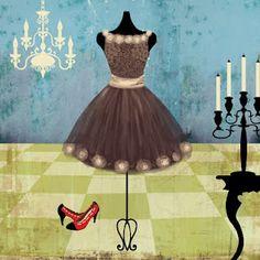 ,Elegant Cocktail Dress Form