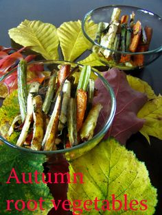 TynaTyna: Autumn root vegetables Root Vegetables, Korn, Asparagus, Autumn, Homemade, Studs, Fall, Diy Crafts, Do It Yourself
