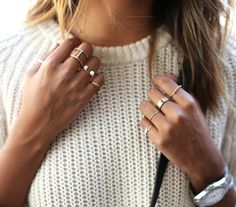 One ring isn't enough... (pull Madewell - blog Sincerely Jules)