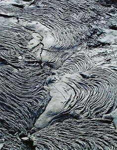 Eliot Porter: Photographs Lava Flow, Sullivan Bay, James, Galapagos