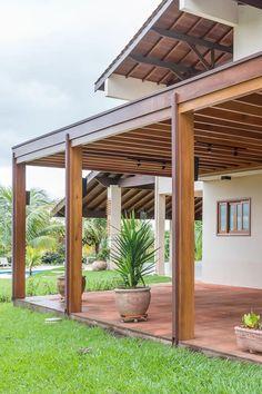 Wood Pergola, Outdoor Pergola, Backyard Pergola, Pergola Plans, Backyard Landscaping, Covered Pergola Patio, Patio Design, Garden Design, Patio Decorating Ideas On A Budget