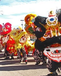 Watch a lion dance festival.