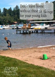 Packing for your next family vacation? Don't leave home without these 10 things for your young kids. Forgetting them will make your life (and vacation!) much harder.