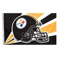 Pittsburgh Steelers Flag 3 x 5 NFL Football New Steelers Flag, Pittsburgh Steelers Helmet, Flag Football, Football Helmets, Dallas Cowboys, Pitt Steelers, Pittsburgh Sports, Messi, Bold Logo