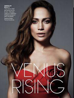 Jennifer López - Vogue Magazine
