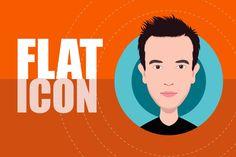 Illustrator Tutorial: Flat Design Avatar or Icon Making Tutorial