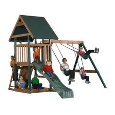 Backyard Play Systems Wood Boulder Creek Swing Set  sc 1 st  Pinterest & Boulder Creek 4-Person Dome Tent | Stuff to Buy | Pinterest | Dome ...