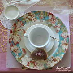 Doodlecraft: Blush and Gold Tea Party