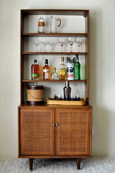 I love this practical petite piece. You can fit this into just about any space as it is minimalistic and compact. A smaller (yet equally stylish)