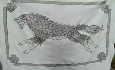 Image result for house stark banner