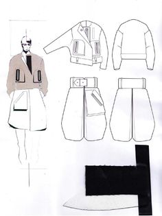 Fashion Sketchbook - fashion design drawings & fabrics; fashion illustration; fashion portfolio // Andrew Voss