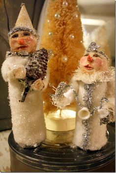 primitive snowmen