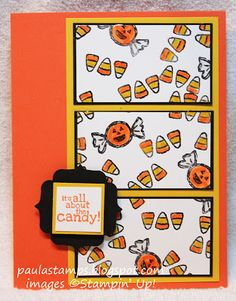 Stampin with Paula: Stampin' Addicts Challenges are Back! Great challenge card!