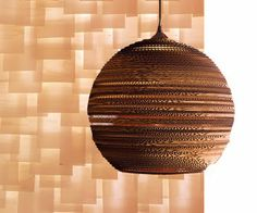 CHRISTOPHER ONG - My Footsteps. My Dreams. Beautiful Living.: Cardboard Lamp