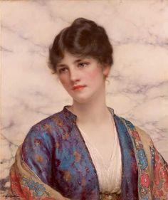 Wontner, 'Valeria', circa 1916, olio su tela, 63,5 x 53,3. Messico, Collezione Pérez Simón © Studio Sebert Photographes