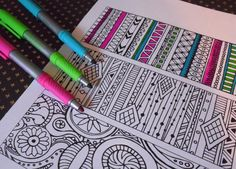 Lilt Kids Patterns Coloring Book FREE. And more!