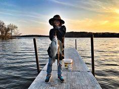 Gotta love Iowa fishing - nice catch, Gabi!  Photo: Dave Halverson
