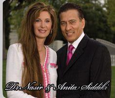 Dr. Nasir & Anita Siddiki  He spoke at our church April 15 - 17, 2012.