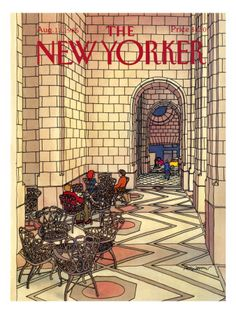 New Yorker Covers Prints at the Condé Nast Collection