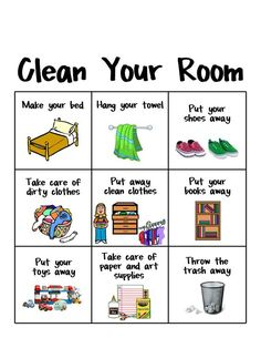 New cleaning room list kid chores ideas Kids And Parenting, Parenting Hacks, Chore Chart Kids, Daily Chore Charts, Chore List For Kids, Charts For Kids, Daily Routine Chart For Kids, Morning Routine Chart, Morning Routine Kids
