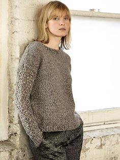 DARCY from Rowan Knitting and Crochet Magazine No. (ZM58) Winter 2015 is an exciting knitwear season with many catwalk collections showcasing knits as the main feature. The emphasis on yarns are brushed finishes, soft wools, mohairs and furs creating soft touch fabrics. To reflect the seasons trends Rowan is promoting TRANQUIL and FROST ... and of course the ESSENTIALS collection showcasing the key shapes for the season   English Yarns