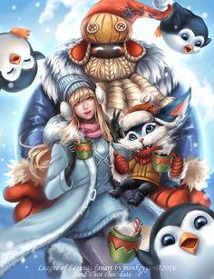 league of legends snow day