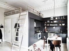 Mini apartamento con altillo
