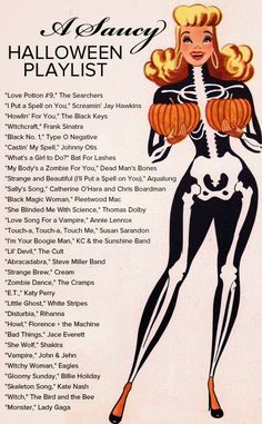 Halloween Music Playlist