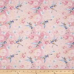 Disney Tinkerbell Tink with Roses Pink Fabric By The Yard... https://www.amazon.com/dp/B010102420/ref=cm_sw_r_pi_dp_x_ovmQybV7EPX0T