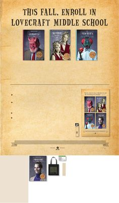Tales from Lovecraft Middle School Event Kit  #books